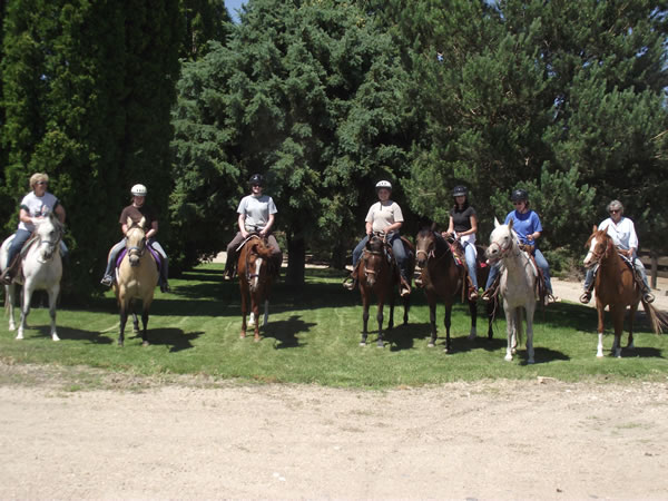 group at ranch